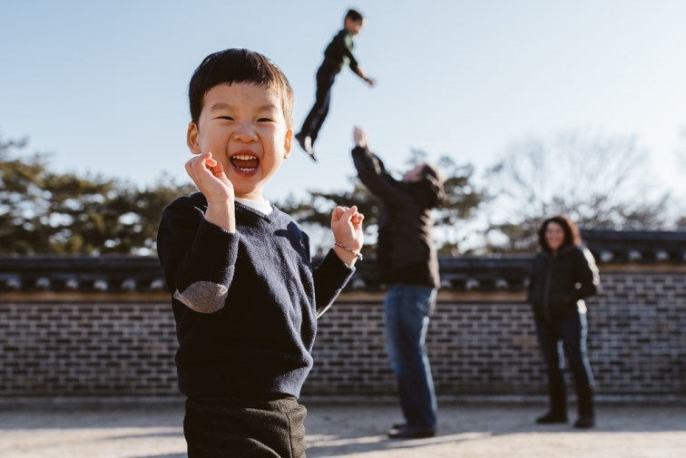 Korea Family Photographer - Sharp