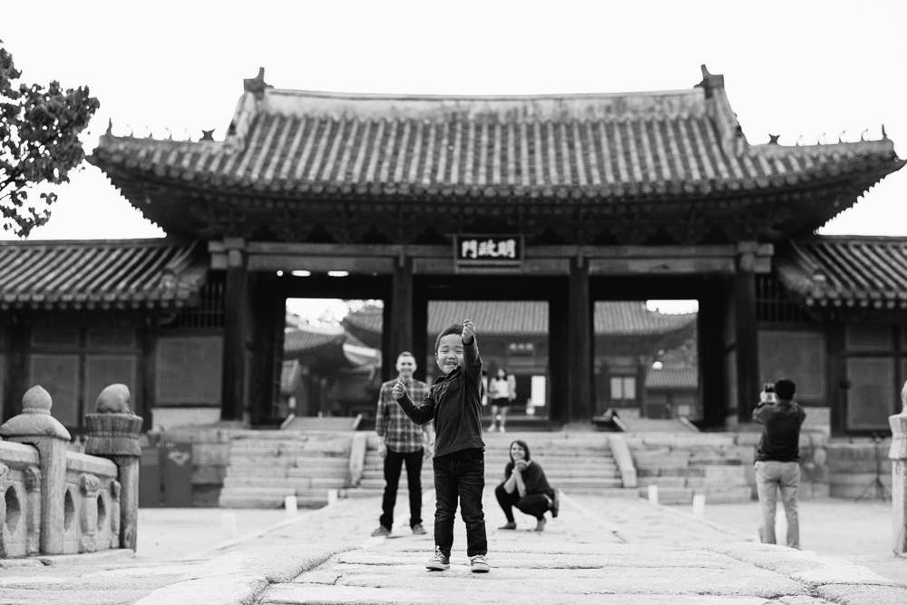 Walker Family Photography in Seoul, Korea