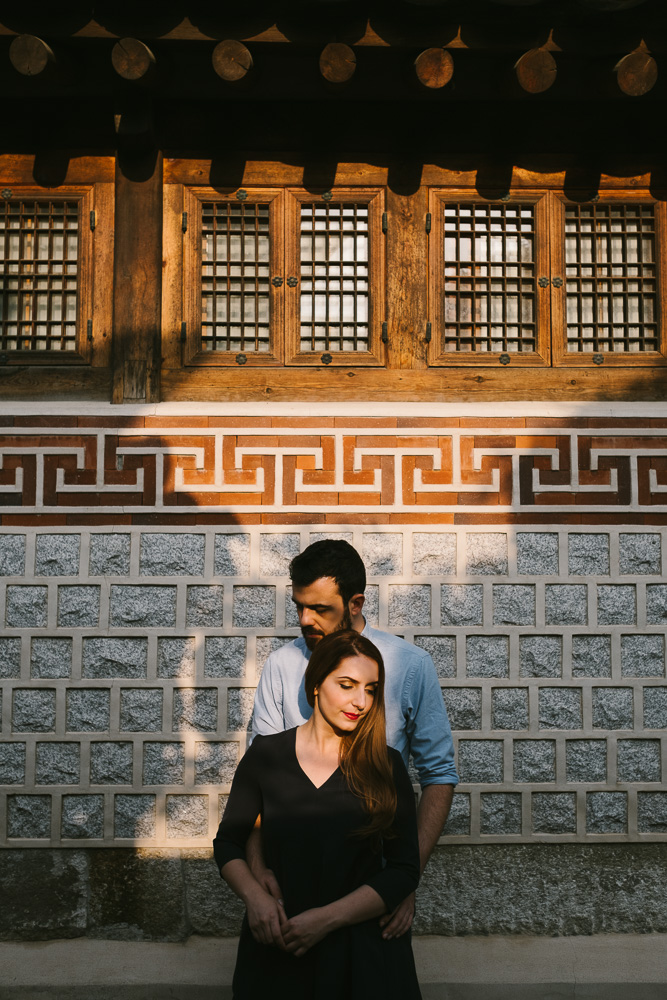 Bukchon, Seoul Pre-Wedding Photographer - Michele and Miranda