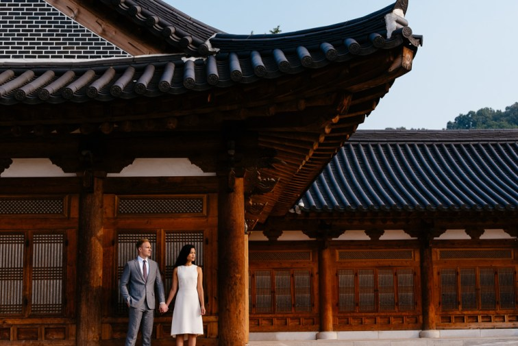 Jeonju Korea Pre-Wedding Photographer - Kim and Chris
