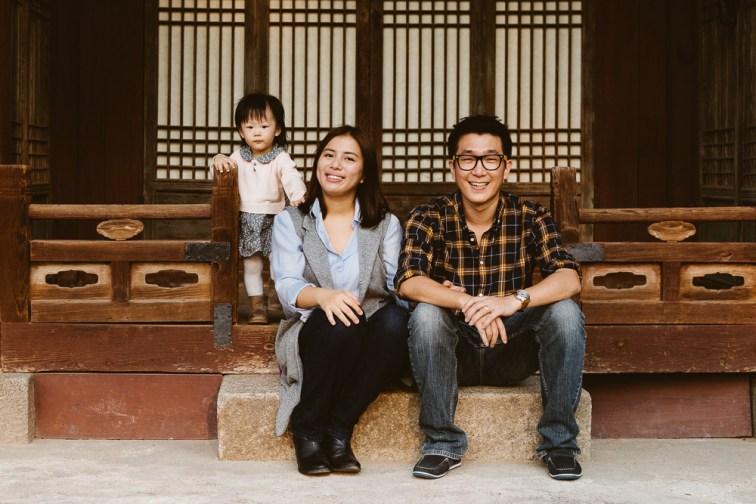 Yoon Family Photography Session - Seoul Korea