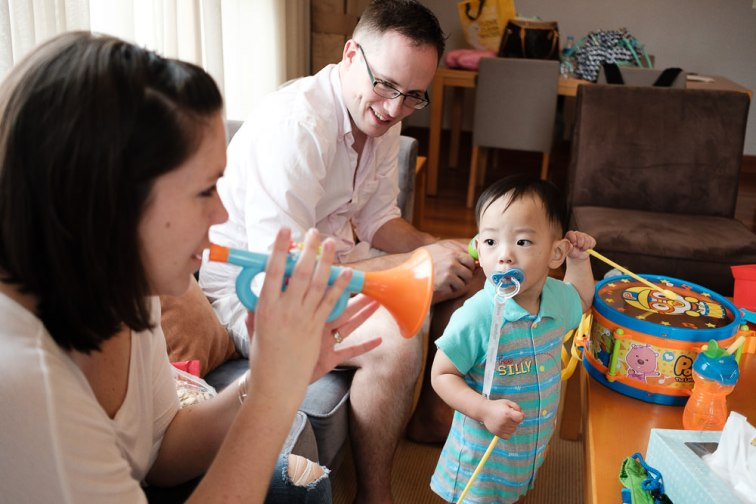 Ramsey Family Photography Seoul Korea