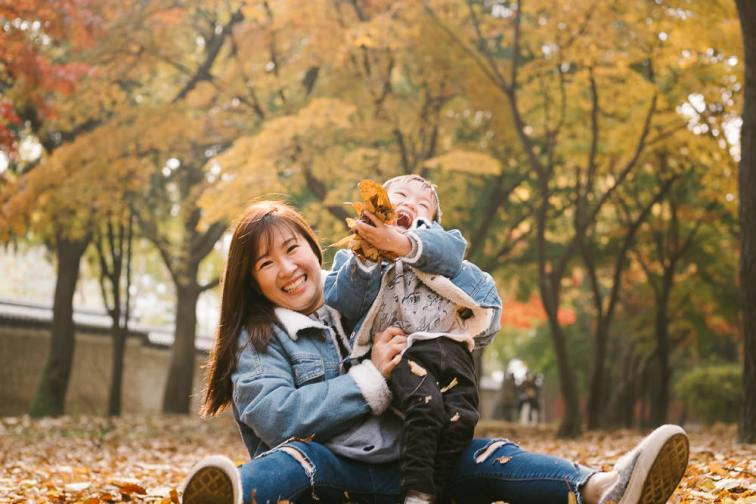 Family Photography in Seoul - Elyzabeth and Jepsen