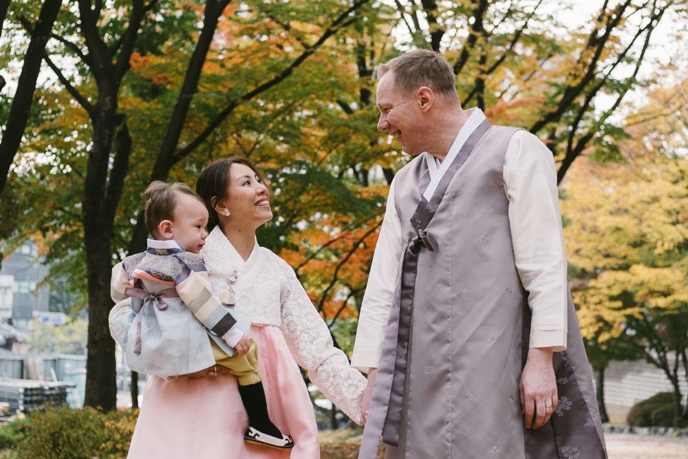Hanbok Family Photos in Seoul