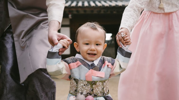 Hanbok Family Photos in Seoul