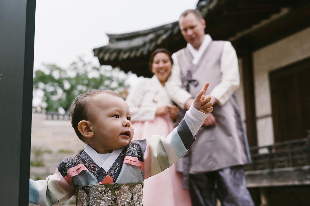 Hanbok Family Photography Korea