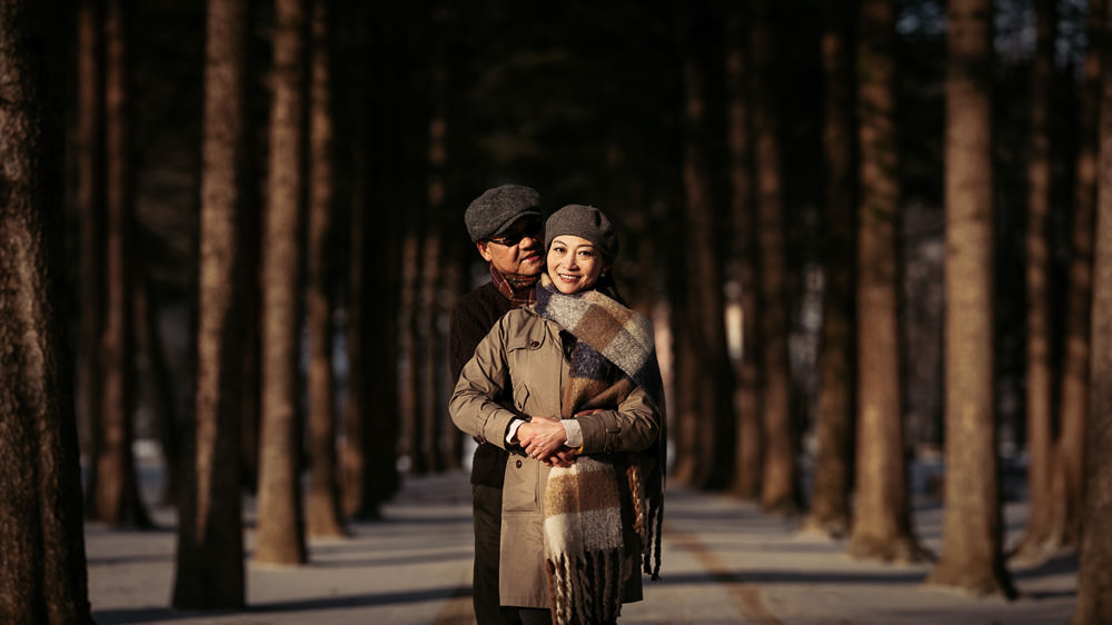 Nami Island Pre Wedding Photography