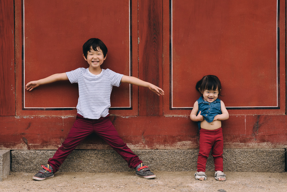 Theo and Noelle - Seoul Family Photographer