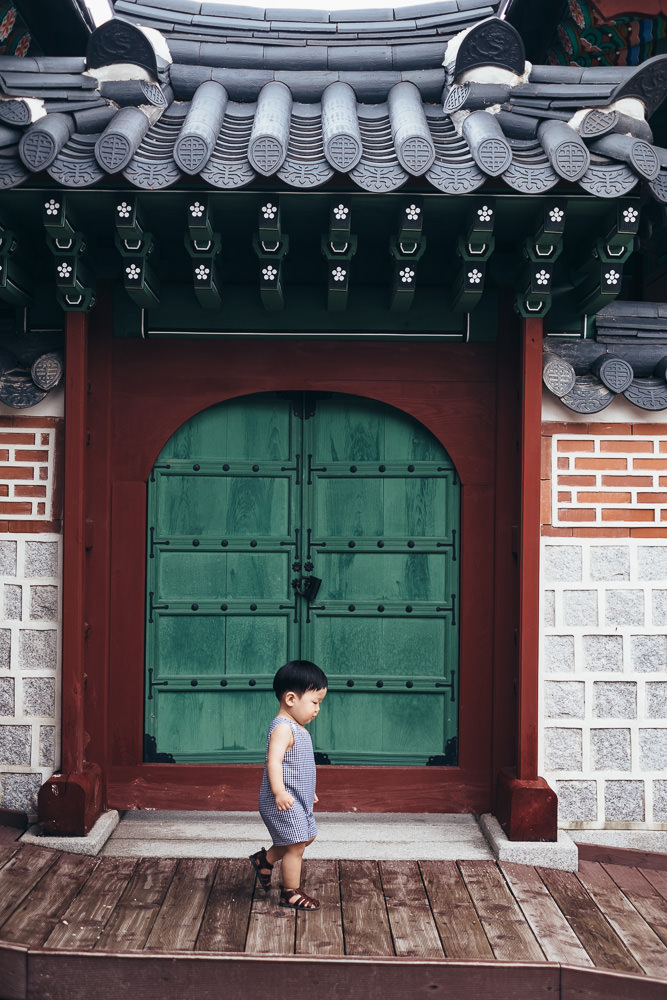 Little Boy Family Photography Gyeongbokgung Seoul Korea