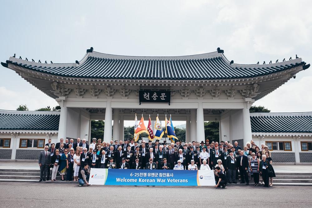 Event Photographer Korea - Commonwealth Veterans