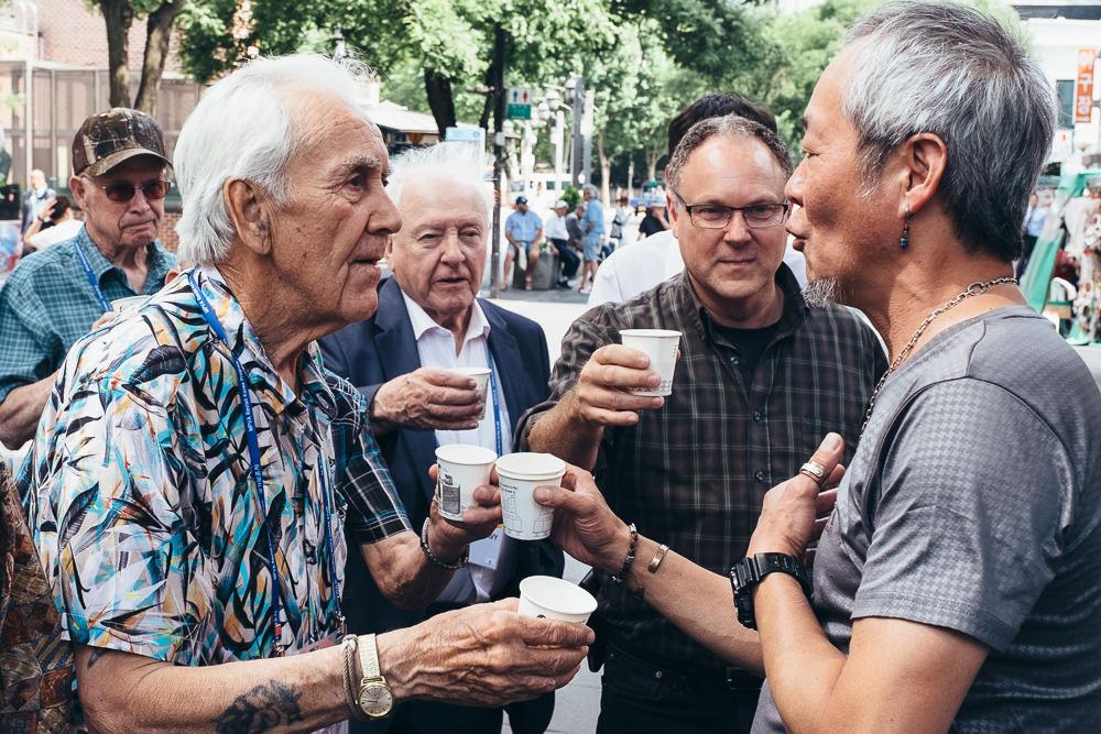 Korea Event Photographer - Canadian Veterans Drinks in Insadong