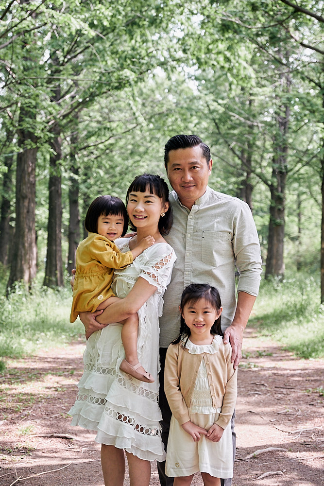 Family Portrait Photography Haneul Sky Park Seoul
