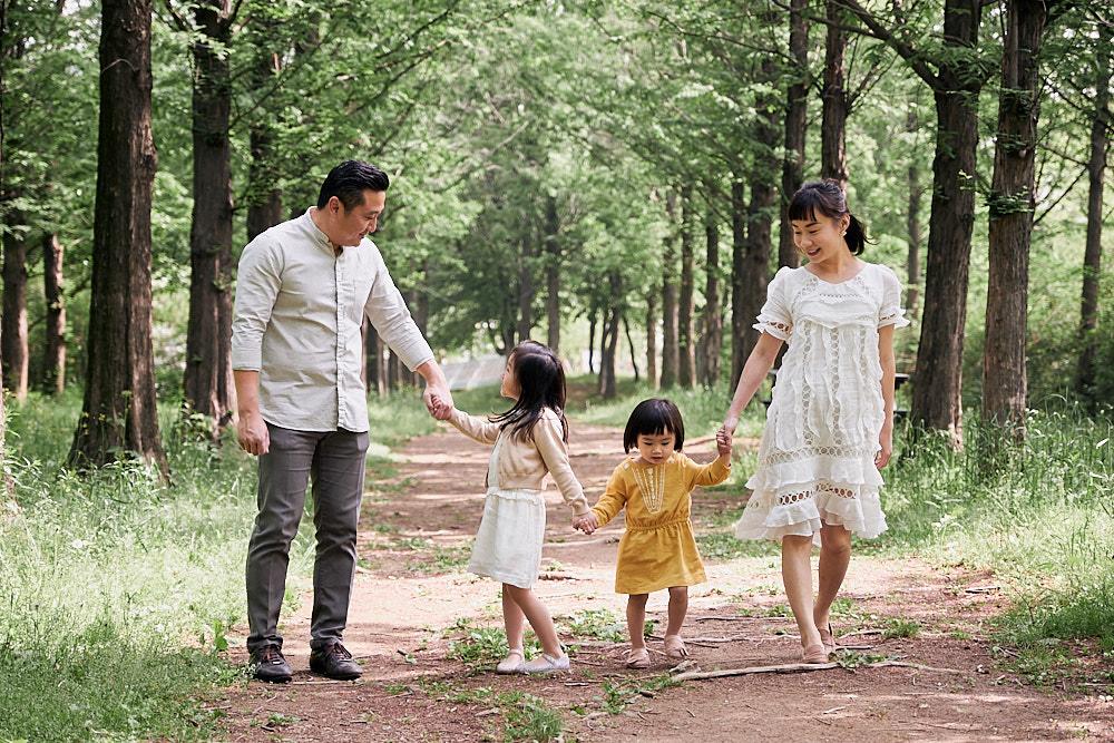 Family Portrait Photography Haneul Sky Park Seoul