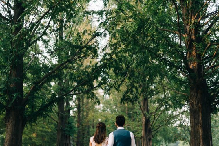 Jaz & Jun Pre-wedding Photography - Seoul Forest