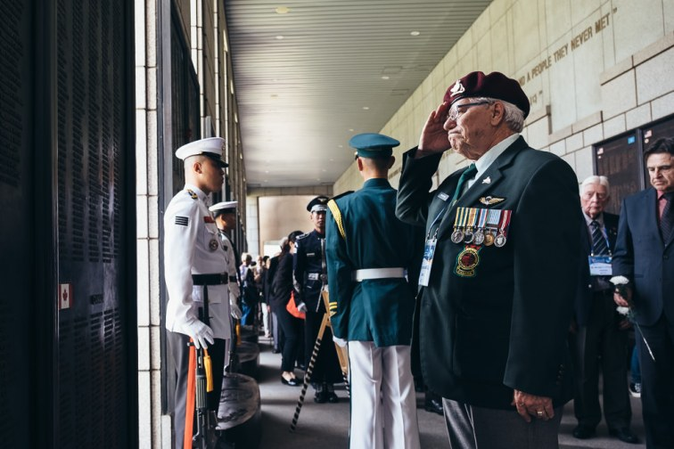 Veterans Affairs Canada Revisit Korea - Seoul Event Photographer
