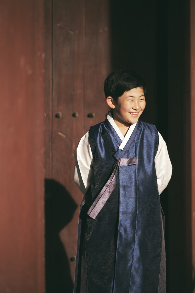 Boy in Hanbok - Family Photographer in Korea