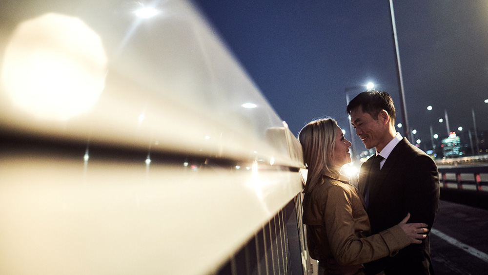 Night Couple Photography in Yeouido - Seoul Pre-Wedding Photographer