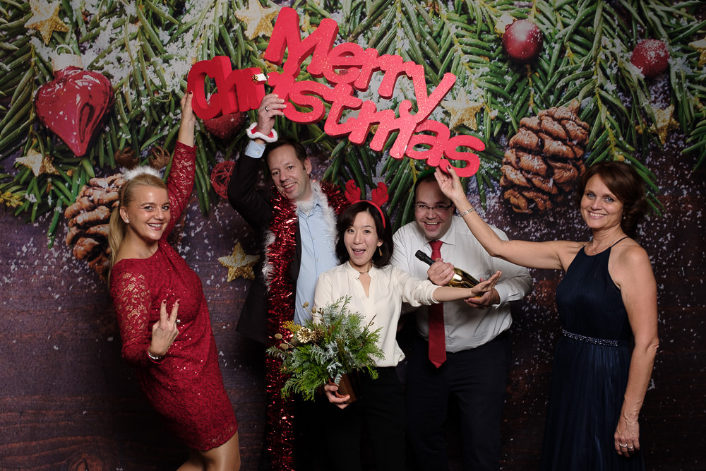German Club Seoul Christmas Party Photo Booth