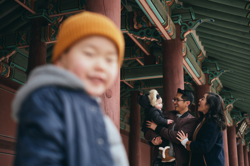 Mangahas family photos in Seoul