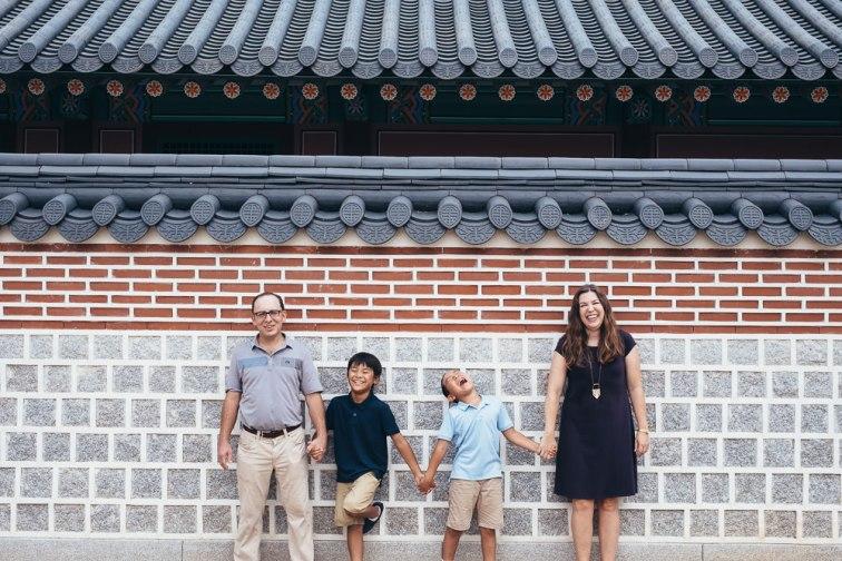 Family Photography at Gyeongbokgung