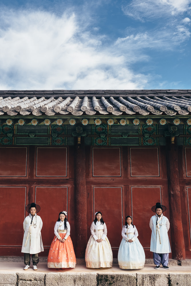 Hanbok Family Photography in Seoul - A beautiful summer's day