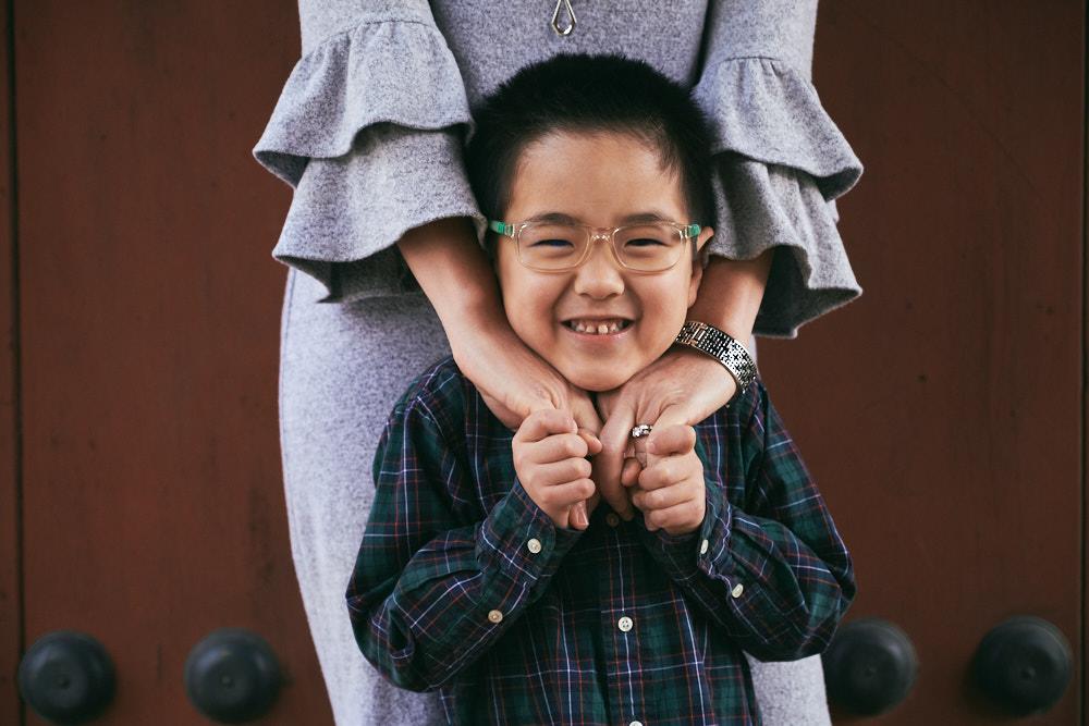 Seoul, Korea, Family Photographer - Ashcraft Family Mother and Son Portrait