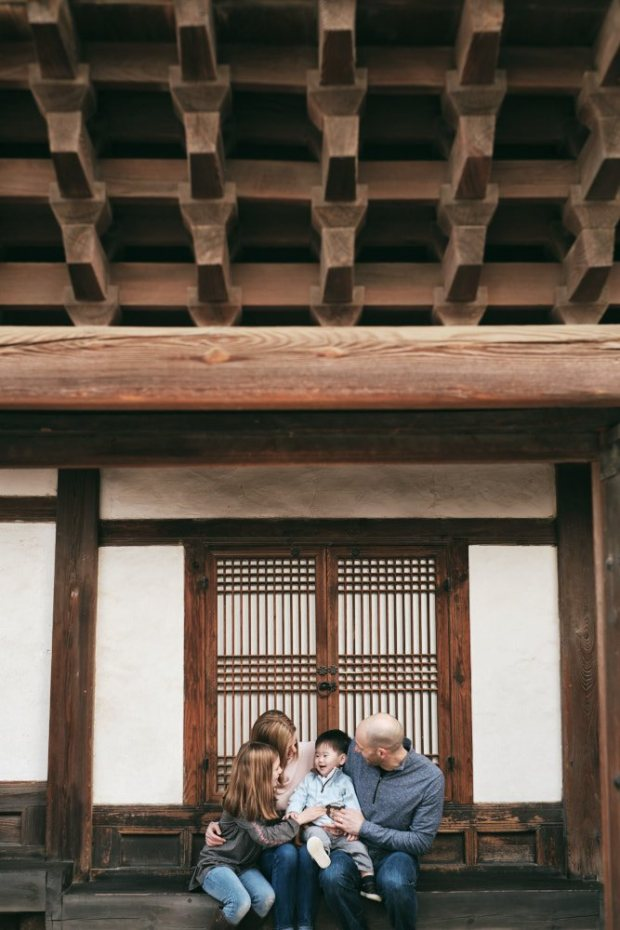 Changdeokgung Wooden Architecture - Perfect for Family Portraits