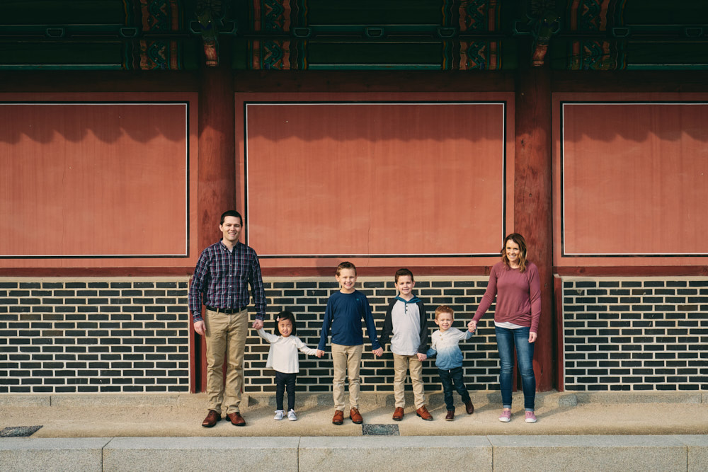 Kruger Family Photoshoot at Changdeokgung