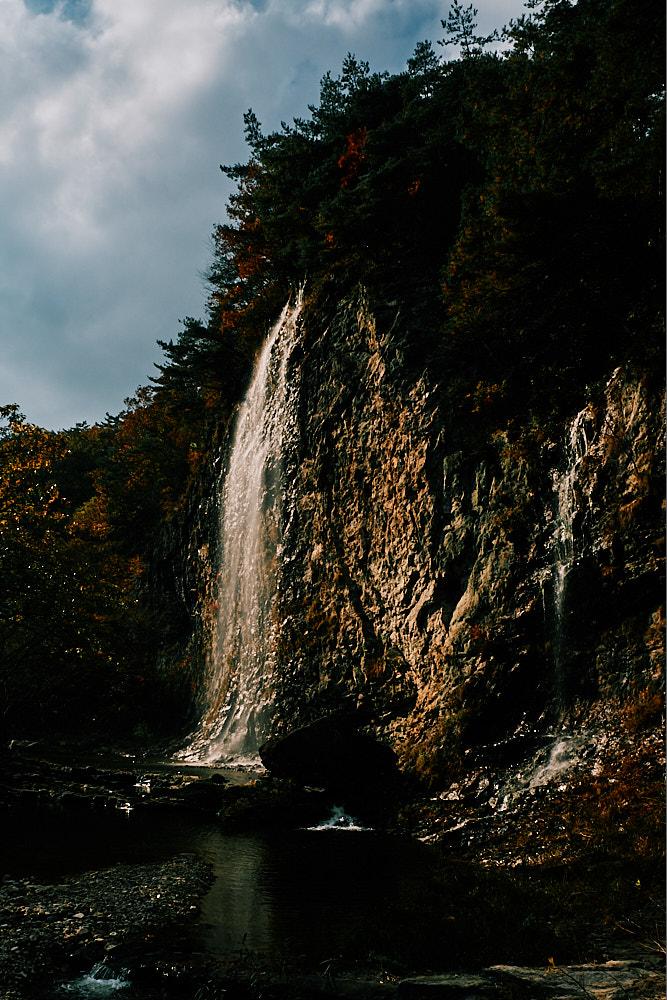 Waterfall, Gangcheonsan National Park, Sunchang Gochujang Village for Smile Magazine, Korea Editorial Photographer