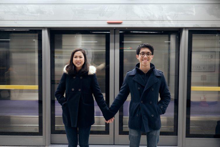 Gwanghwamun, Seoul, Pre-Wedding Winter Photo Shoot