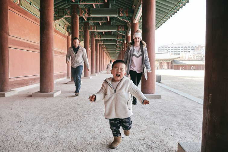 Summers Family Photos Changdeokgung