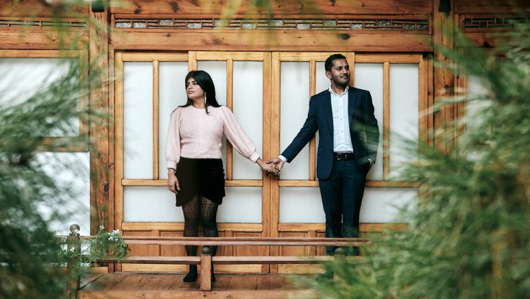 Pre-wedding photoshoot after proposal, Digeut House, Seoul