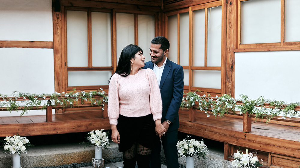 Engagement Photography in Bukchon Hanok Village