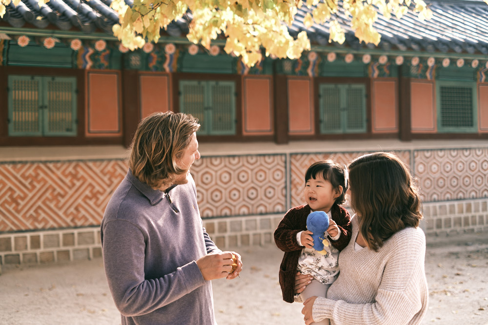 Gyeongbokgung Family Photos - Buthje