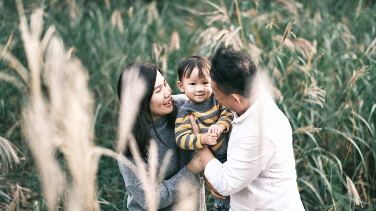 Seoul Forest Family Photos - Autumn