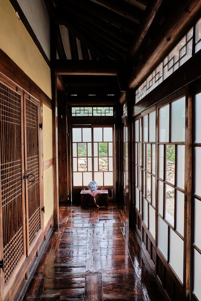 A restored Hanok