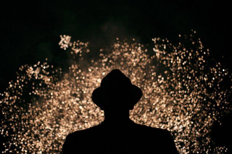Dwight School Seoul PA Dinner - Fireworks - Event Photographer