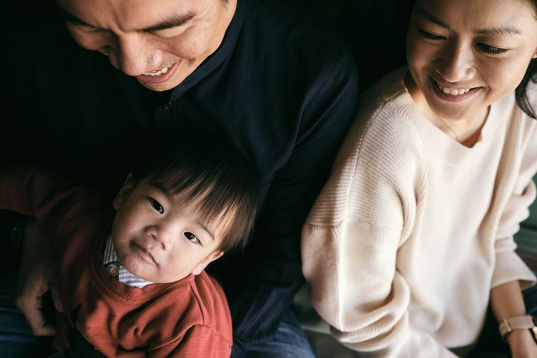 Toddler and parents - Family Photoshoot Korea