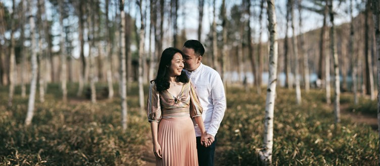 Nami Island Proposal Photography - James and Doreen