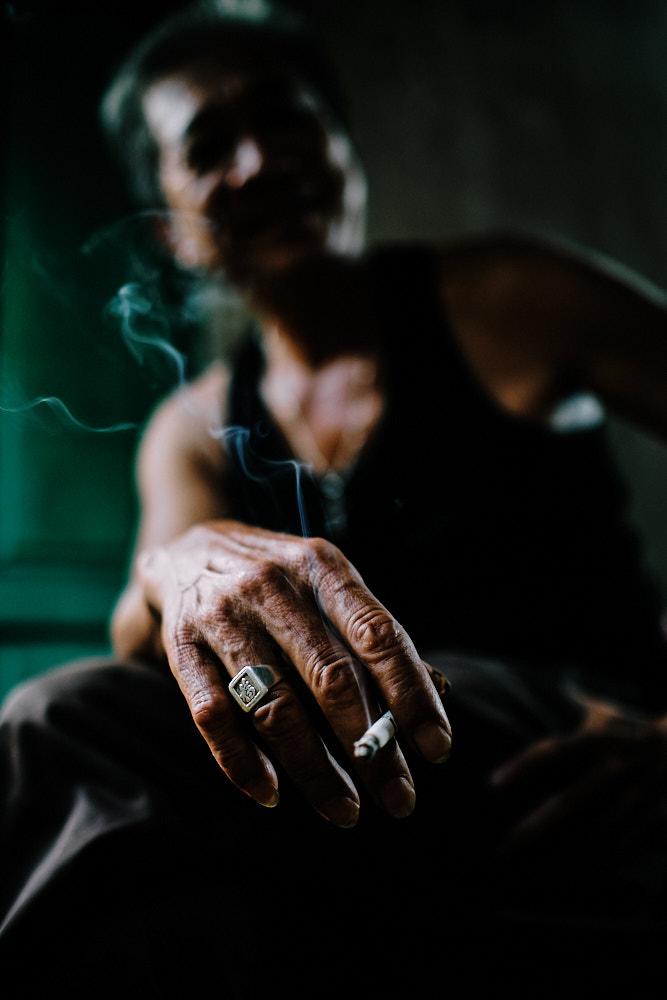 Pics of Asia Central Vietnam Tour - Smoking Man