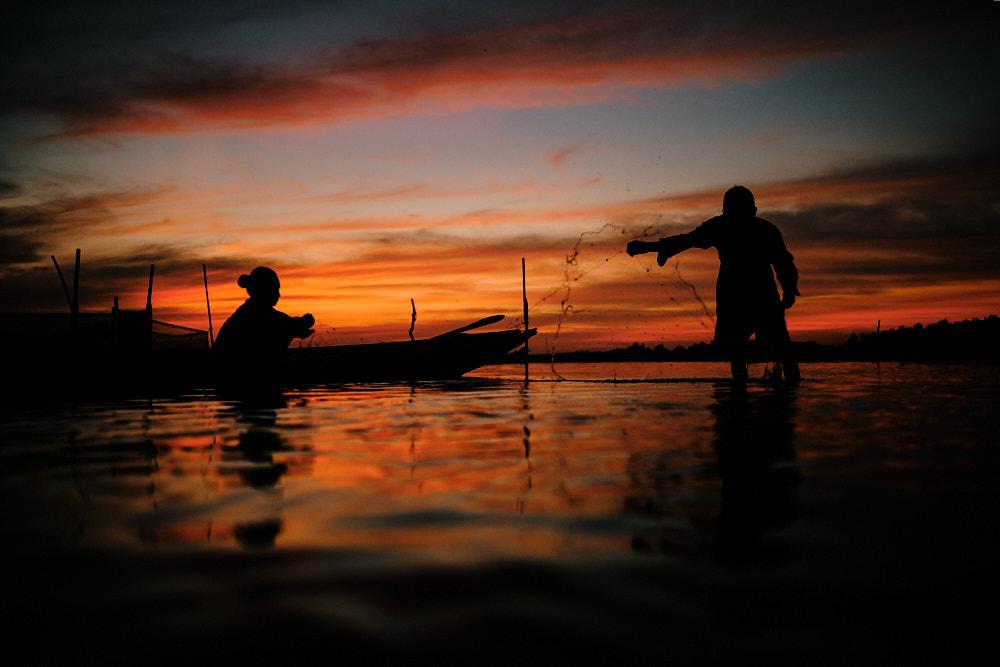 Pics of Asia Central Vietnam Tour - Net Mending