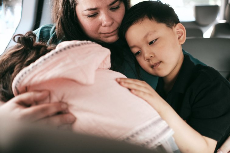 Brother's Comfort - Korea Adoption Custody Photography