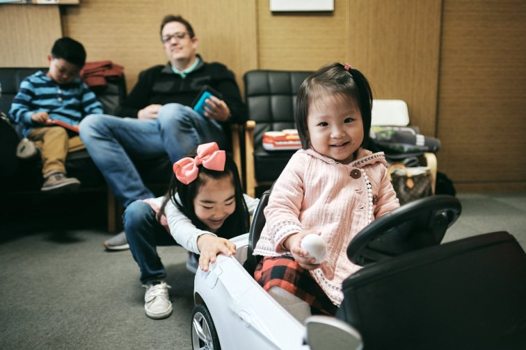 Lydia and Selah - Korea Adoption Photography