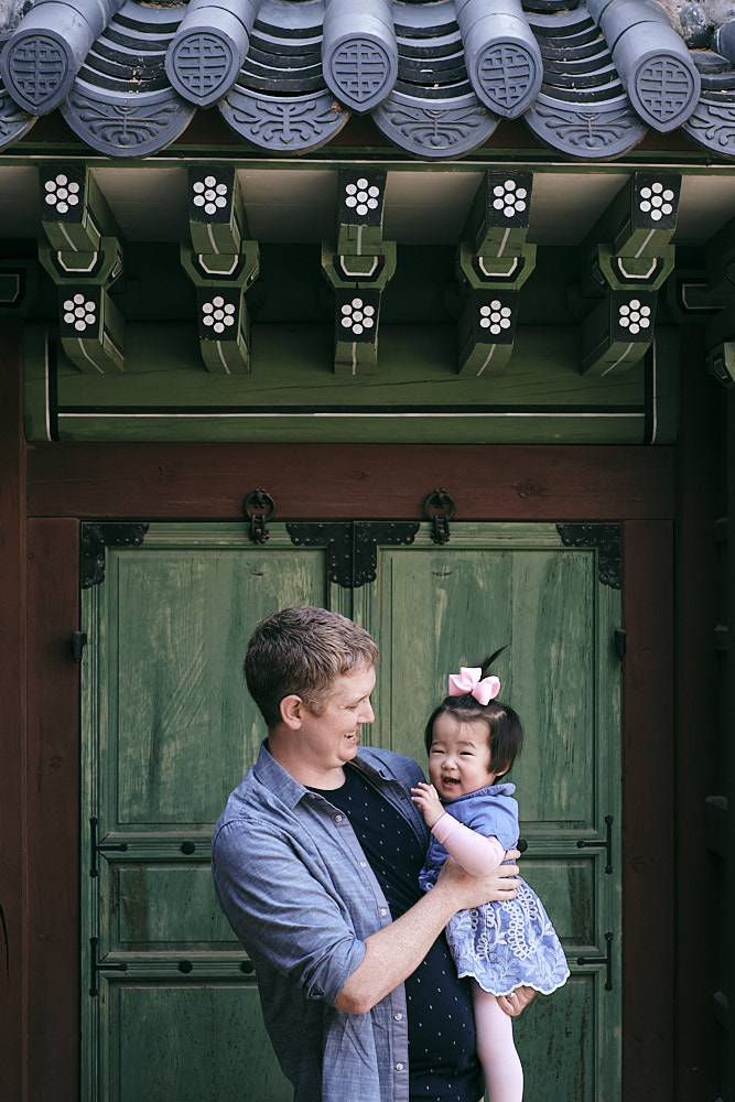 Father and daughter - Family Photography Seoul
