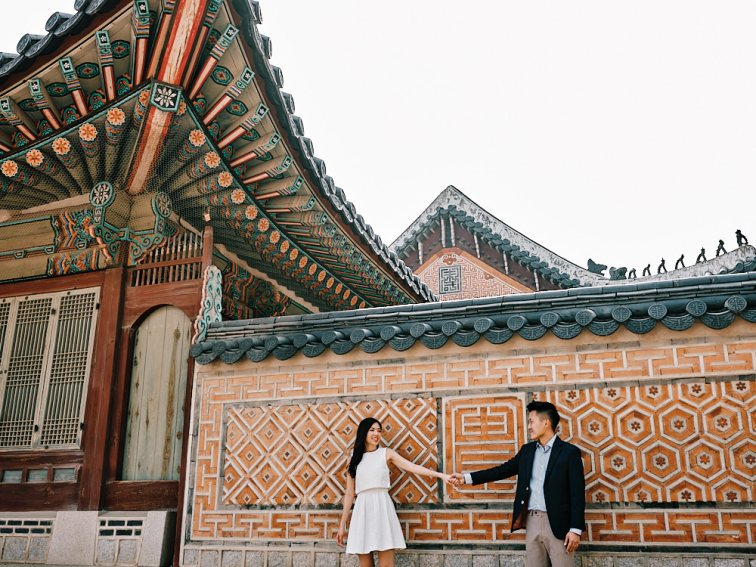 Casual Pre-Wedding Photography - Seoul, Korea