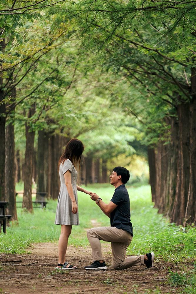 Proposal Photography at Haneul Park, Seoul