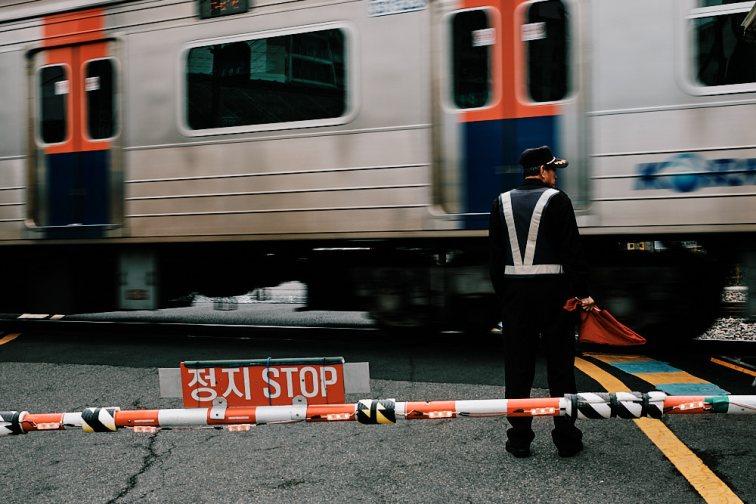 Seoul Railway Crossing