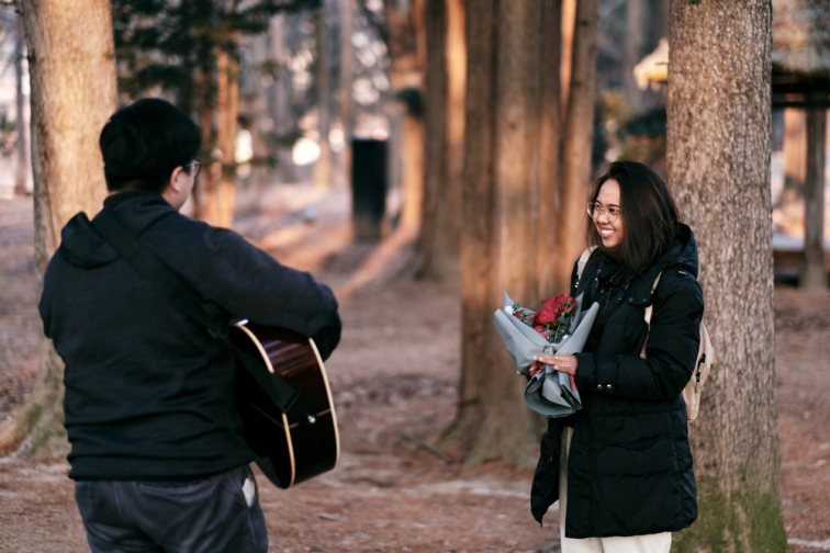Joshua sings a song for Care before his proposal