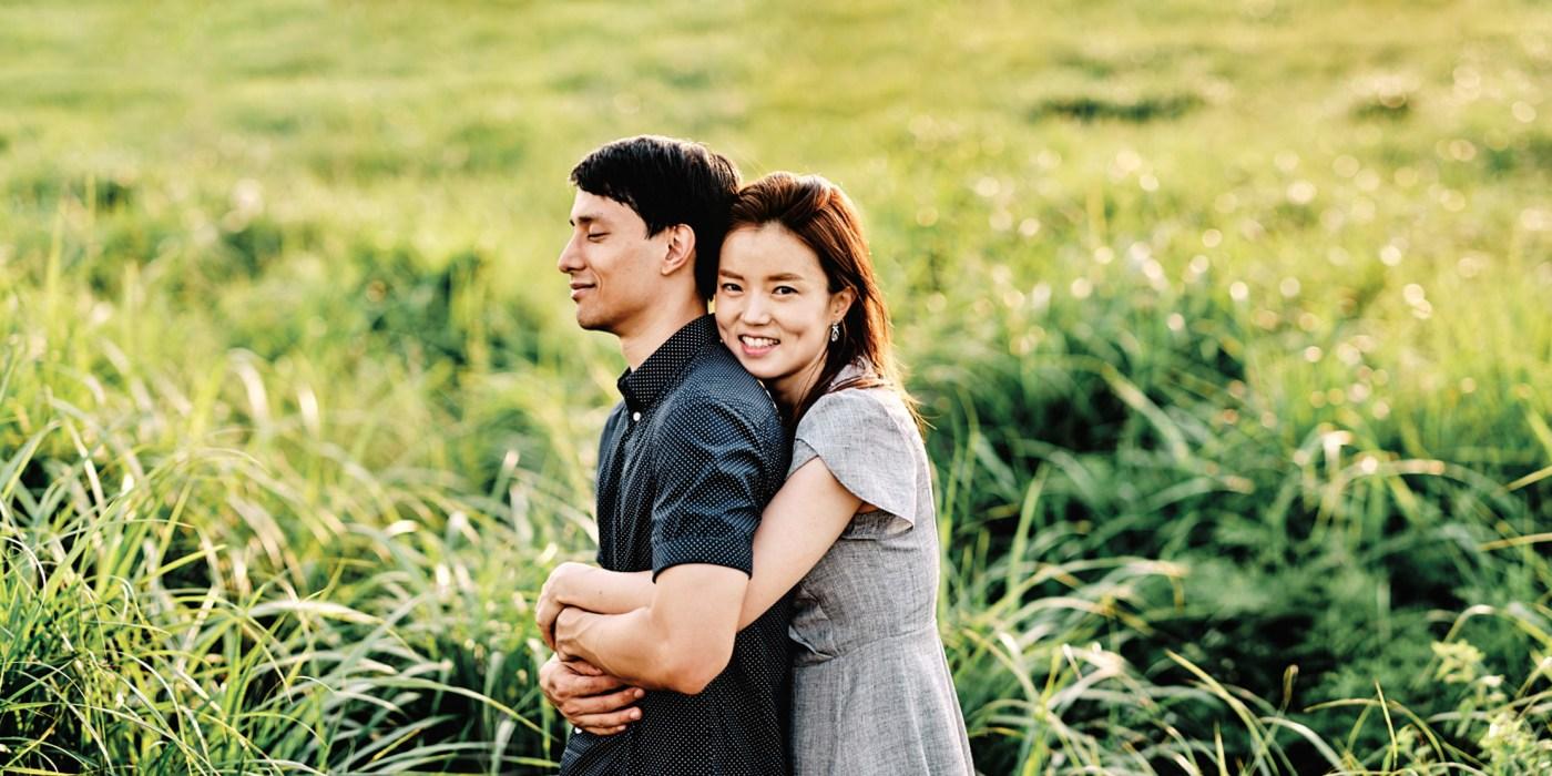 Zion and Miya Post Proposal Photo shoot