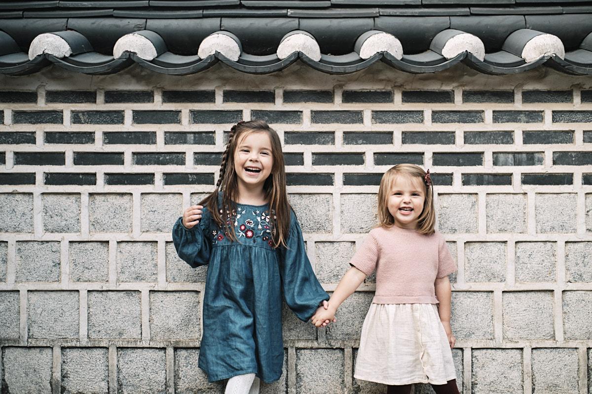 Daughters - Family Photo Shoot - McKeegan Suwon Haenggung